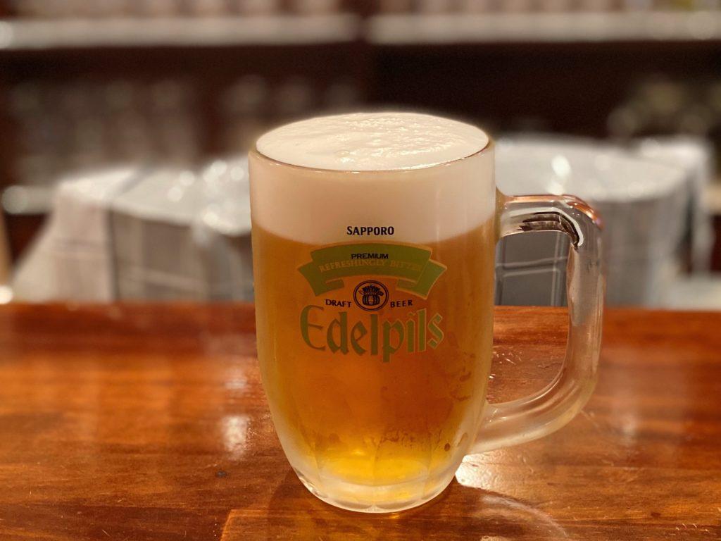 遊酒 β (ゆうしゅべー)のエーデルピルス