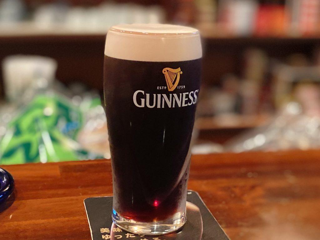 遊酒 β (ゆうしゅべー)のギネスビール
