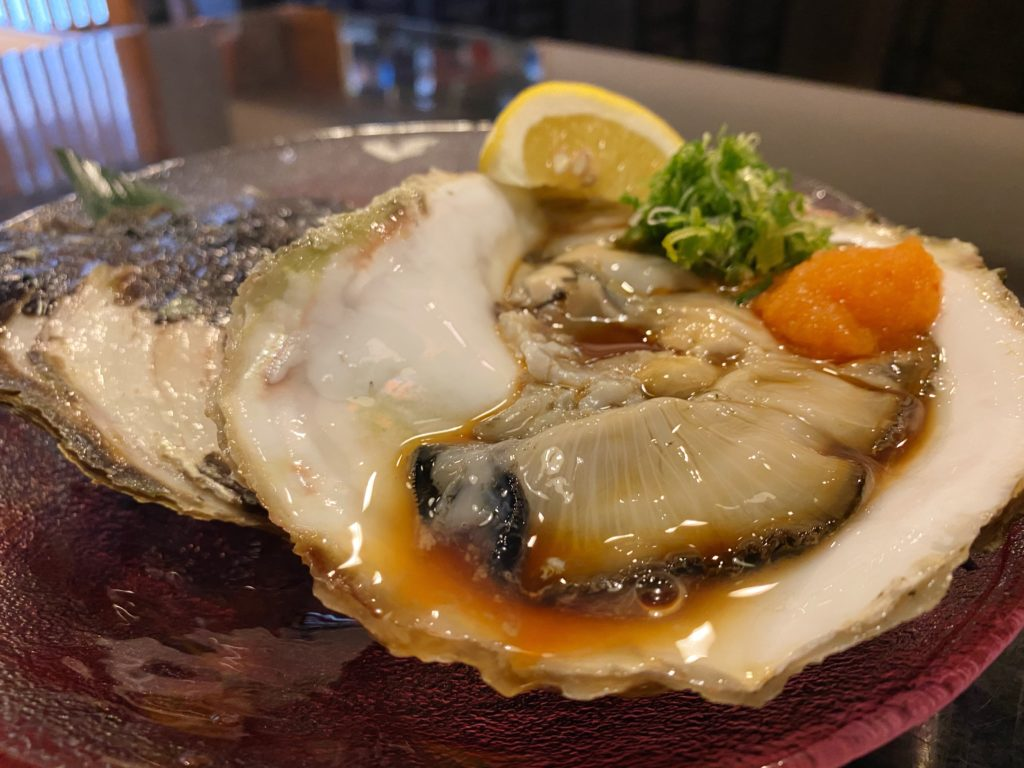 いっしん牡蠣ポン酢