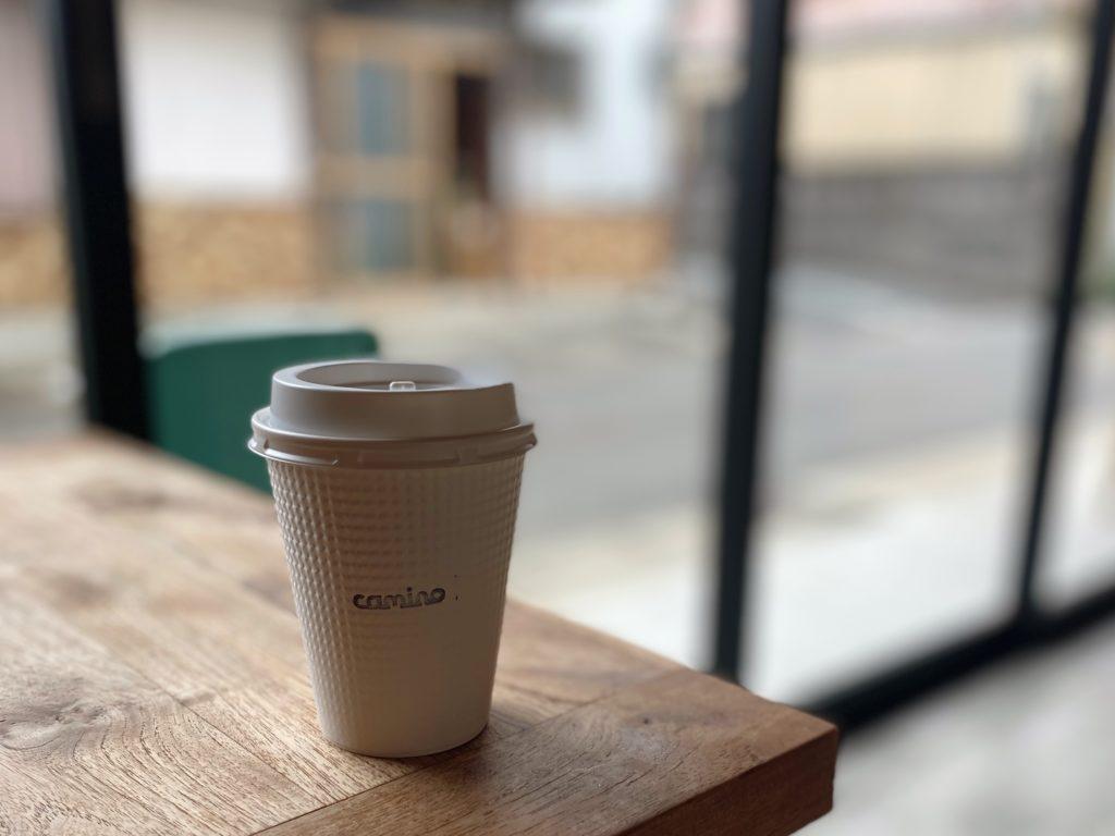 カミノコーヒーテイクアウトコーヒー