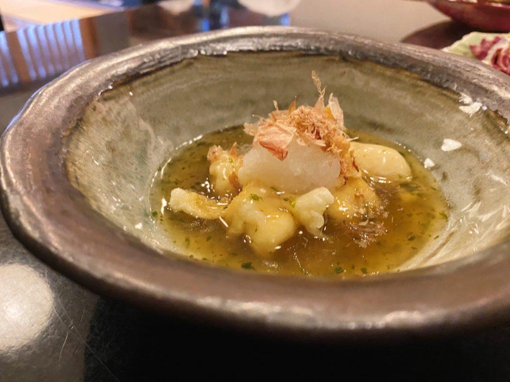 いっしん魚子の天ぷら
